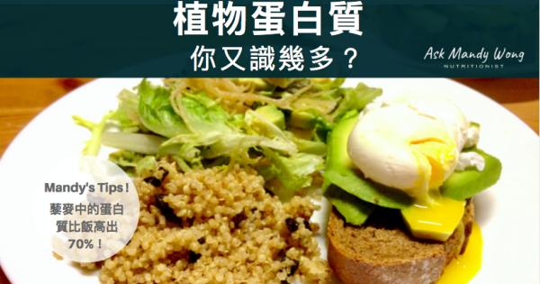 植物蛋白質-你又識幾多?
